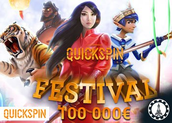 Enter The Quickspin Festival Promotion On Lucky 8 Casino