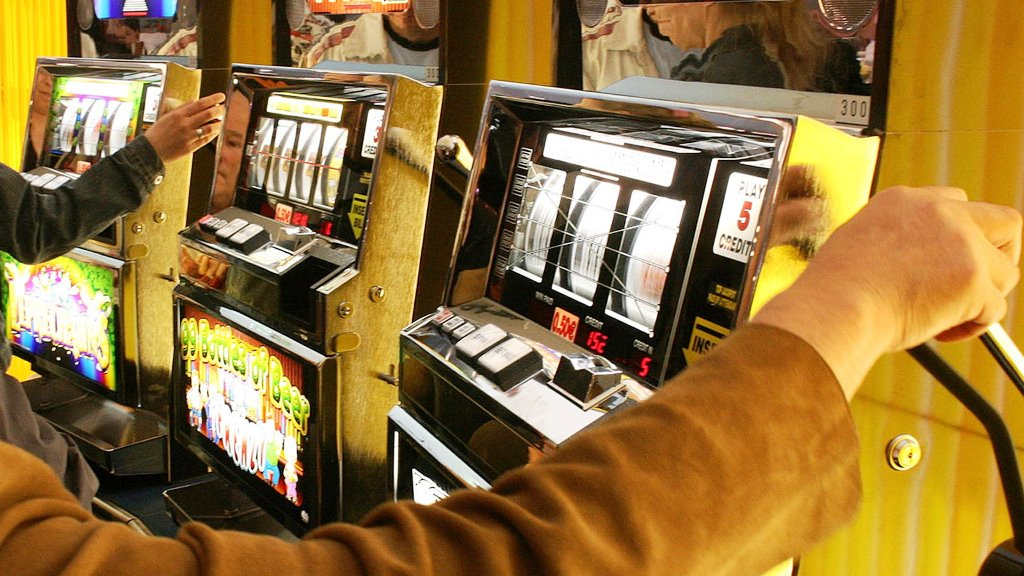 One-armed Bandit slot machine